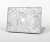 "The White Textured Lace Skin Set for the Apple MacBook Pro 13"" with Retina Display"
