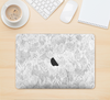 "The White Textured Lace Skin Kit for the 12"" Apple MacBook"