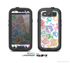 The White & Vector Color-FIsh Skin For The Samsung Galaxy S3 LifeProof Case
