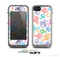 The White Vector Color-Fish Skin for the Apple iPhone 5c LifeProof Case