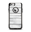The White Wood Planks Apple iPhone 6 Otterbox Commuter Case Skin Set