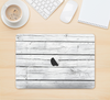 "The White Wood Planks Skin Kit for the 12"" Apple MacBook"