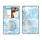 The White and Blue Raining Yarn Clouds Skin For The Apple iPod Classic