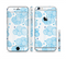 The White and Blue Raining Yarn Clouds Sectioned Skin Series for the Apple iPhone 6s