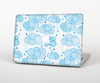 The White and Blue Raining Yarn Clouds Skin Set for the Apple MacBook Pro 15""