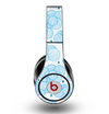 The White and Blue Raining Yarn Clouds Skin for the Original Beats by Dre Studio Headphones