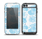 The White and Blue Raining Yarn Clouds Skin for the iPod Touch 5th Generation frē LifeProof Case