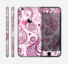 The White and Pink Birds with Floral Pattern Skin for the Apple iPhone 6