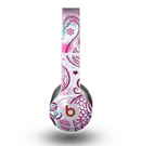 The White and Pink Birds with Floral Pattern Skin for the Beats by Dre Original Solo-Solo HD Headphones