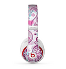 The White and Pink Birds with Floral Pattern Skin for the Beats by Dre Studio (2013+ Version) Headphones