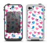 The White with Pink & Blue Vector Tweety Birds Apple iPhone 4-4s LifeProof Fre Case Skin Set