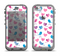 The White with Pink & Blue Vector Tweety Birds Apple iPhone 5c LifeProof Nuud Case Skin Set