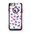 The White with Pink & Blue Vector Tweety Birds Apple iPhone 6 Otterbox Commuter Case Skin Set