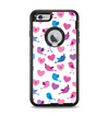 The White with Pink & Blue Vector Tweety Birds Apple iPhone 6 Plus Otterbox Defender Case Skin Set