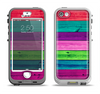 The Wide Neon Wood Planks Apple iPhone 5-5s LifeProof Nuud Case Skin Set