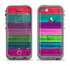 The Wide Neon Wood Planks Apple iPhone 5c LifeProof Fre Case Skin Set