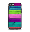 The Wide Neon Wood Planks Apple iPhone 6 Otterbox Symmetry Case Skin Set