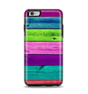 The Wide Neon Wood Planks Apple iPhone 6 Plus Otterbox Symmetry Case Skin Set
