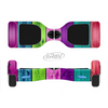 The Wide Neon Wood Planks Full-Body Skin Set for the Smart Drifting SuperCharged iiRov HoverBoard