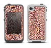 The Wild Leopard Print Apple iPhone 4-4s LifeProof Fre Case Skin Set
