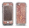 The Wild Leopard Print Apple iPhone 5-5s LifeProof Nuud Case Skin Set