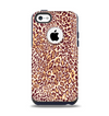 The Wild Leopard Print Apple iPhone 5c Otterbox Commuter Case Skin Set