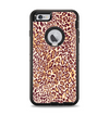 The Wild Leopard Print Apple iPhone 6 Plus Otterbox Defender Case Skin Set