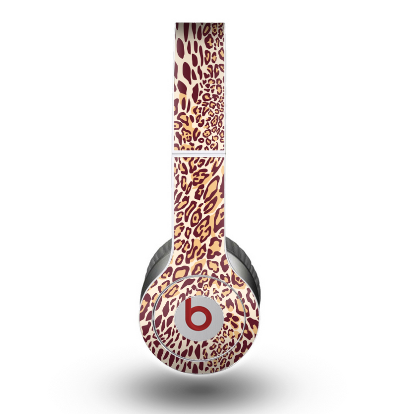 The Wild Leopard Print Skin for the Beats by Dre Original Solo-Solo HD Headphones
