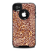 The Wild Leopard Print Skin for the iPhone 4-4s OtterBox Commuter Case