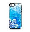 The Winter Abstract Blue Apple iPhone 5-5s Otterbox Symmetry Case Skin Set