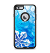 The Winter Abstract Blue Apple iPhone 6 Plus Otterbox Defender Case Skin Set