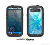 The Winter Abstract Blue Skin For The Samsung Galaxy S3 LifeProof Case