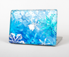 "The Winter Abstract Blue Skin Set for the Apple MacBook Pro 15"" with Retina Display"