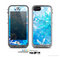 The Winter Abstract Blue Skin for the Apple iPhone 5c LifeProof Case