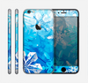The Winter Abstract Blue Skin for the Apple iPhone 6