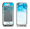 The Winter Blue Abstract Unfocused Apple iPhone 5-5s LifeProof Nuud Case Skin Set
