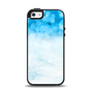 The Winter Blue Abstract Unfocused Apple iPhone 5-5s Otterbox Symmetry Case Skin Set