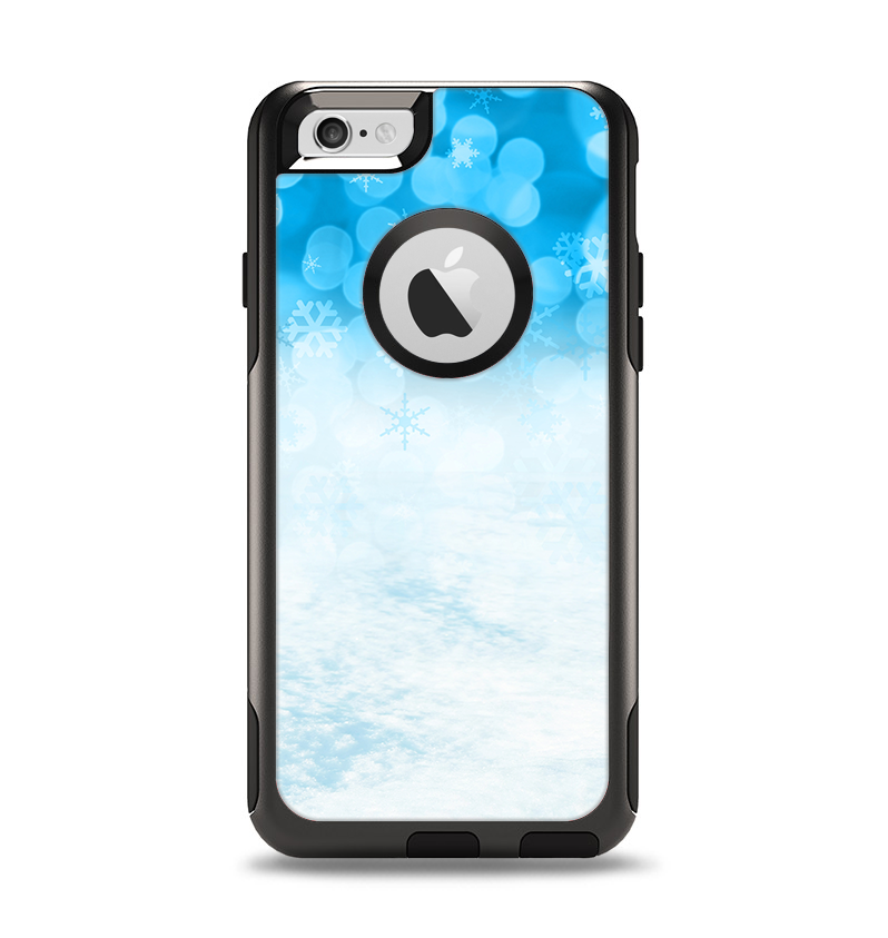 The Winter Blue Abstract Unfocused Apple Iphone 6 Otterbox