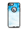 The Winter Blue Abstract Unfocused Apple iPhone 6 Otterbox Defender Case Skin Set