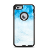 The Winter Blue Abstract Unfocused Apple iPhone 6 Plus Otterbox Defender Case Skin Set