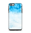 The Winter Blue Abstract Unfocused Apple iPhone 6 Plus Otterbox Symmetry Case Skin Set