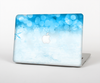 "The Winter Blue Abstract Unfocused Skin Set for the Apple MacBook Pro 15"" with Retina Display"