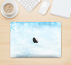 "The Winter Blue Abstract Unfocused Skin Kit for the 12"" Apple MacBook"