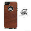 The WoodGrain V2 Skin For The iPhone 4-4s or 5-5s Otterbox Commuter Case'