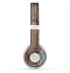 The Wood Planks with Peeled Blue Paint Skin for the Beats by Dre Solo 2 Headphones