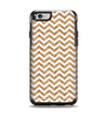 The Wood & White Chevron Pattern Apple iPhone 6 Otterbox Symmetry Case Skin Set