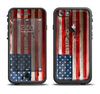 The Wooden Grungy American Flag Apple iPhone 6/6s Plus LifeProof Fre Case Skin Set