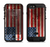 The Wooden Grungy American Flag  iPhone 6/6s Plus LifeProof Fre POWER Case Skin Kit