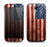 The Wooden Grungy American Flag Skin For The Samsung Galaxy S4