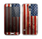 The Wooden Grungy American Flag Skin For the Samsung Galaxy S5